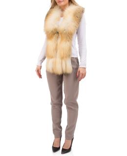 Горжетка из меха лисы, цвет: Натуральный (лиса) - купить за 37500 в магазине - Гипермаркет меха