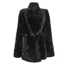 Полупальто из мутона, цвет: Чёрный - купить за 36100 в магазине - Гипермаркет меха
