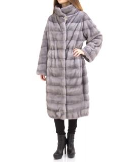 Пальто из меха норки, цвет: Сапфир - купить за 257600 в магазине - Гипермаркет меха