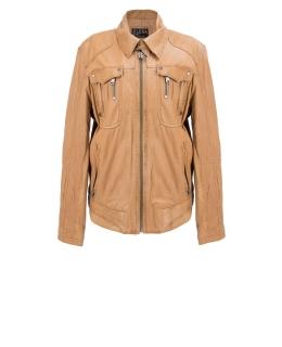 Куртка из кожи, цвет: Бежевый - купить за 27200 в магазине - Гипермаркет меха
