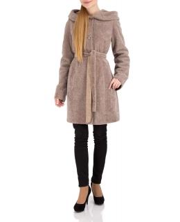 Полупальто из мутона, цвет: Енот - купить за 31900 в магазине - Гипермаркет меха