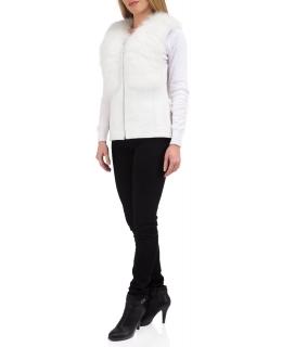 Жилет из меха песца, цвет: Белый, отделка Кожа - купить за 24900 в магазине - Гипермаркет меха