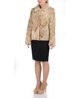 Жакет из меха бобра, цвет: Арктик - купить за 39800 в магазине - Гипермаркет меха