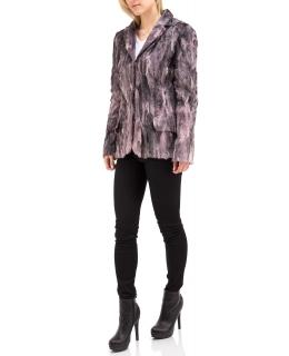 Жакет из каракуля, цвет: Сиреневый - купить за 45300 в магазине - Гипермаркет меха
