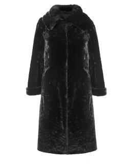 Пальто из мутона, цвет: Чёрный астраган - купить за 41800 в магазине - Гипермаркет меха