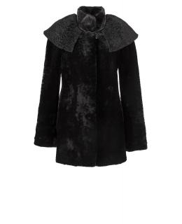 Полупальто из мутона, цвет: Чёрный - купить за 38100 в магазине - Гипермаркет меха