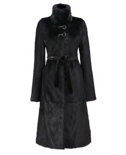 Пальто из меха норки, цвет: Чёрный - купить за 109200 в магазине - Гипермаркет меха