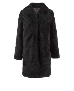 Полупальто из мутона, цвет: Чёрный - купить за 9900 в магазине - Гипермаркет меха