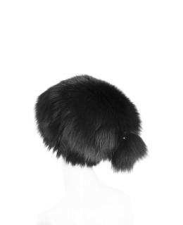Головной убор из меха песца, цвет: Тёмный - купить за 14300 в магазине - Гипермаркет меха