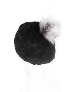 Головной убор из меха бобра, цвет: Чёрный, отделка Щипка - купить за 14000 в магазине - Гипермаркет меха