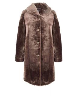Полупальто из мутона, цвет: Капучино - купить за 24200 в магазине - Гипермаркет меха