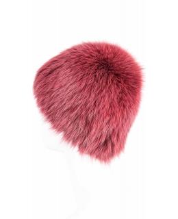 Головной убор из меха песца, цвет: Цветной, отделка Вязка - купить за 12400 в магазине - Гипермаркет меха