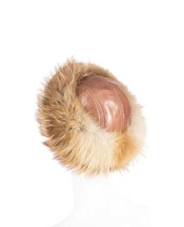 Головной убор из меха лисы, цвет: Натуральный (лиса) - купить за 14200 в магазине - Гипермаркет меха