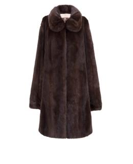 Полупальто из меха норки, цвет: Махагон - купить за 234100 в магазине - Гипермаркет меха