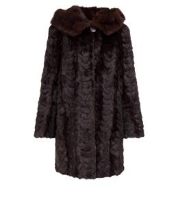 Полупальто из меха норки, цвет: Цветной - купить за 60000 в магазине - Гипермаркет меха