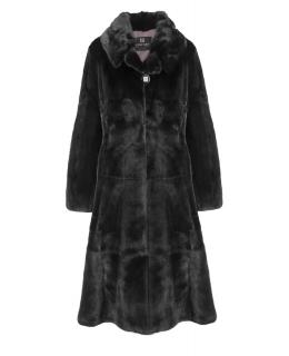 Пальто из меха норки, цвет: Чёрный - купить за 254800 в магазине - Гипермаркет меха