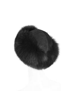 Головной убор из меха песца, цвет: Чёрный - купить за 12800 в магазине - Гипермаркет меха