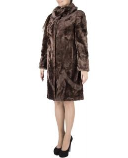 Полупальто из мутона, цвет: Карамель - купить за 32000 в магазине - Гипермаркет меха