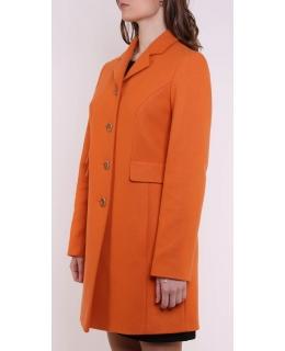 Пальто из шерсти, цвет: Оранжевый - купить за 8600 в магазине - Гипермаркет меха