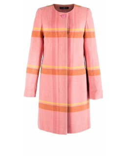 Пальто из шерсти, цвет: Розовый - купить за 5200 в магазине - Гипермаркет меха