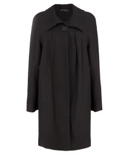 Пальто из шерсти, цвет: Чёрный - купить за 6400 в магазине - Гипермаркет меха