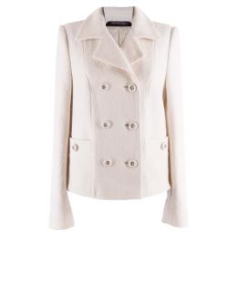 Пальто из шерсти, цвет: Молочный - купить за 5600 в магазине - Гипермаркет меха