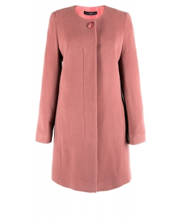 Пальто из шерсти, цвет: Серо-розовый - купить за 6800 в магазине - Гипермаркет меха