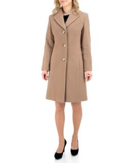 Пальто из шерсти, цвет: Бежевый - купить за 5800 в магазине - Гипермаркет меха