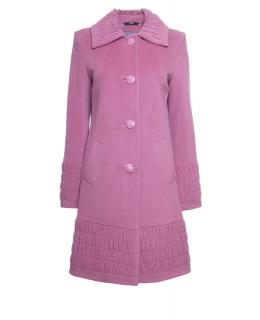 Пальто из шерсти, цвет: Спокойный коралл - купить за 6200 в магазине - Гипермаркет меха