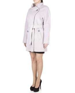 Пальто из шерсти, цвет: Светло-серый - купить за 8800 в магазине - Гипермаркет меха
