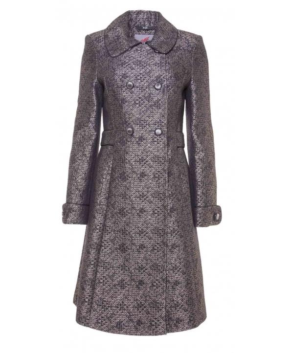 Пальто из шерсти, цвет: Чёрный - купить за 3600 в магазине - Гипермаркет меха