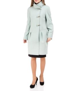 Пальто из шерсти, цвет: Ментол - купить за 9000 в магазине - Гипермаркет меха