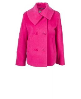 Пальто из шерсти, цвет: Розовый - купить за 7200 в магазине - Гипермаркет меха