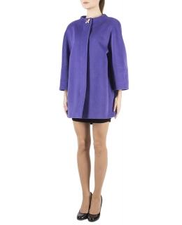 Пальто из шерсти, цвет: Сиреневый - купить за 25800 в магазине - Гипермаркет меха