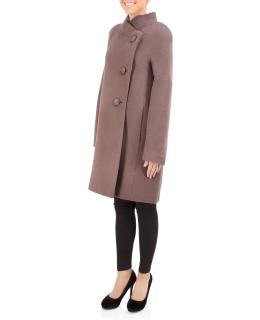 Пальто из шерсти, цвет: Какао - купить за 6400 в магазине - Гипермаркет меха