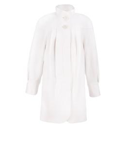 Пальто из шерсти, цвет: Молочный - купить за 6400 в магазине - Гипермаркет меха