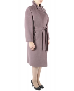Пальто из шерсти, цвет: Серо-коричневый - купить за 6400 в магазине - Гипермаркет меха