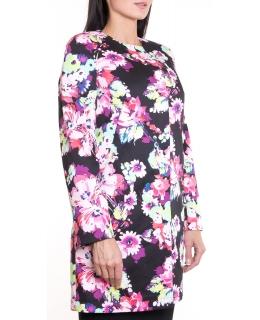 Пальто из текстиля, цвет: Пион - купить за 9100 в магазине - Гипермаркет меха