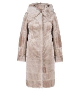 Пальто из мутона, цвет: Енот - купить за 32000 в магазине - Гипермаркет меха