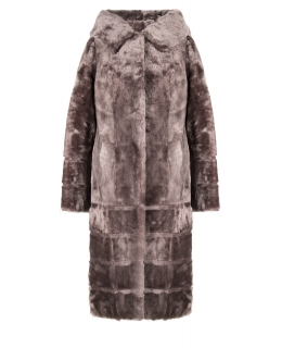 Пальто из мутона, цвет: Карамель - купить за 32000 в магазине - Гипермаркет меха