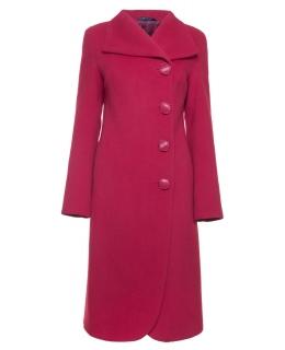 Пальто из шерсти, цвет: Красный - купить за 9600 в магазине - Гипермаркет меха
