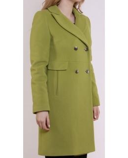Пальто из шерсти, цвет: Фисташковый - купить за 5200 в магазине - Гипермаркет меха