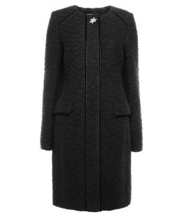 Пальто из текстиля, цвет: Чёрный - купить за 11800 в магазине - Гипермаркет меха