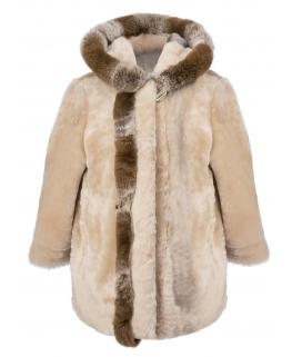 Пальто детское из мутона