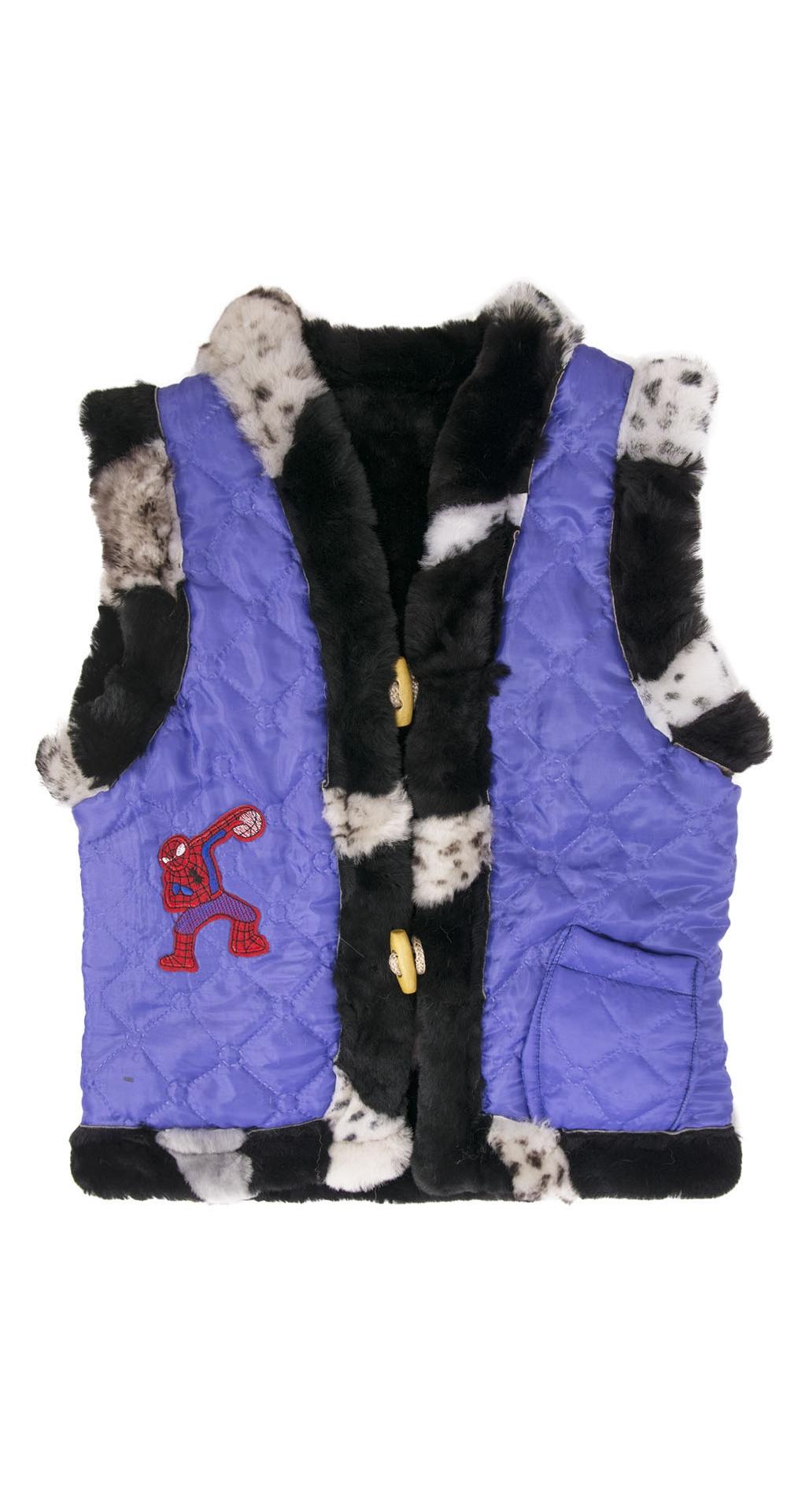 Жилет детский из мутона, цвет: В ассортименте, отделка Текстиль - купить за 1900 в магазине - Гипермаркет меха