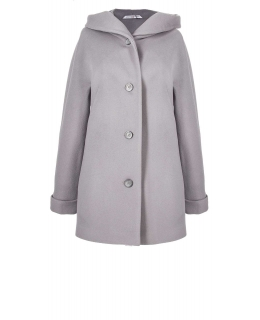 Пальто из шерсти, цвет: Серый - купить за 8200 в магазине - Гипермаркет меха