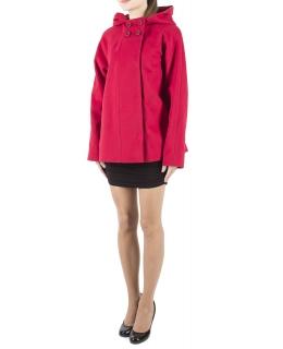Пальто из шерсти, цвет: Красный - купить за 9000 в магазине - Гипермаркет меха