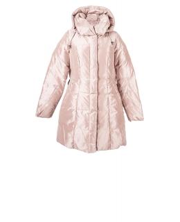 Полупальто из полиэстера, цвет: Пудра - купить за 8000 в магазине - Гипермаркет меха