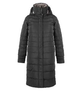 Полупальто из полиэстера, цвет: Чёрный, отделка Кружево - купить за 15800 в магазине - Гипермаркет меха