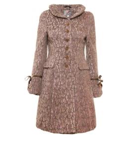 Пальто из текстиля, цвет: Бежевый - купить за 4200 в магазине - Гипермаркет меха